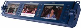 "Datavideo TLM-433 3 x 4.3"" TFT LCD Monitor Bank"
