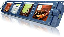 "Datavideo TLM-404 4 x 4"" TFT LCD Monitor Bank"